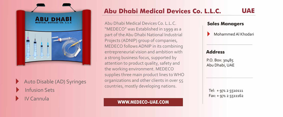 Medical and Healthcare - Dubai Exporters