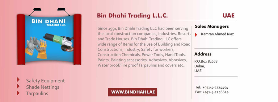 Building and Construction Material - Dubai Exporters